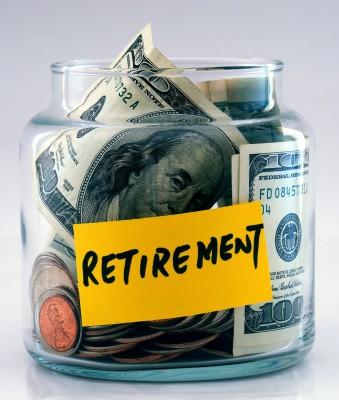 Retirement Funds Jar