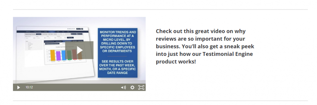 Watch This Video To See How To Get Great Reviews Automatically