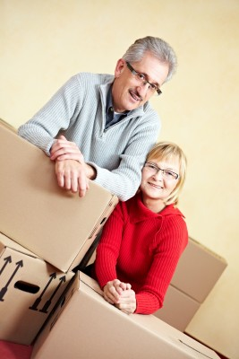 Couple Moving to New Town