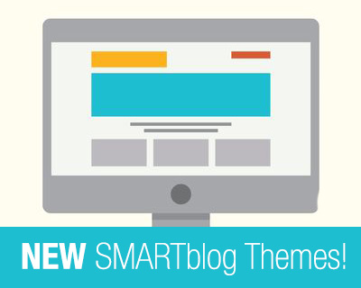 New Themes Available To MySMARTblog Customers!